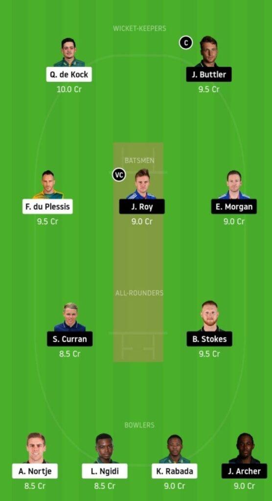 SA vs ENG Dream11 Team Prediction | 1st T20I | England Tour Of South Africa | 27 Nov 2020 Head to Head