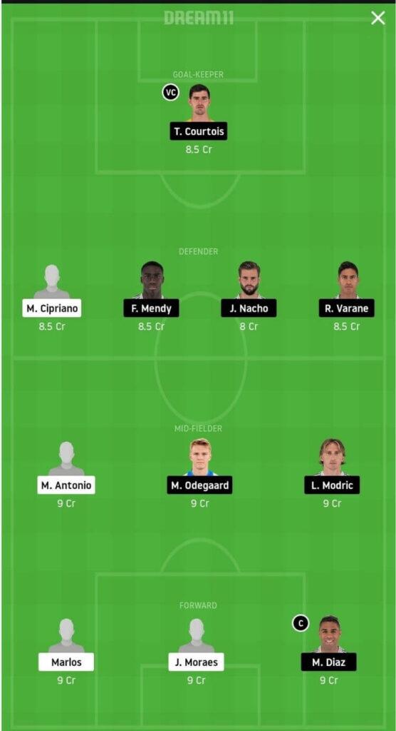 SHA vs RM Dream11 Match Prediction _ Football Fantasy _ UEFA Champions League _ 1st Dec 2020 head to head