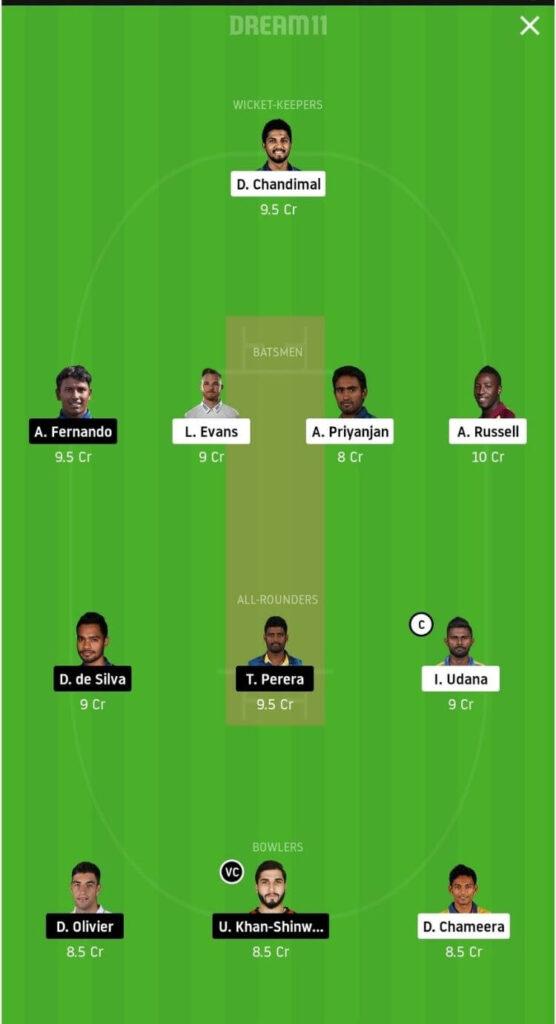 CK vs JS Dream11 Team Prediction _ Match 11 _ Lanka Premier League T20 _ 4th Dec 2020 grand league