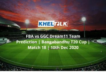 FBA vs GGC Dream11 Team Prediction