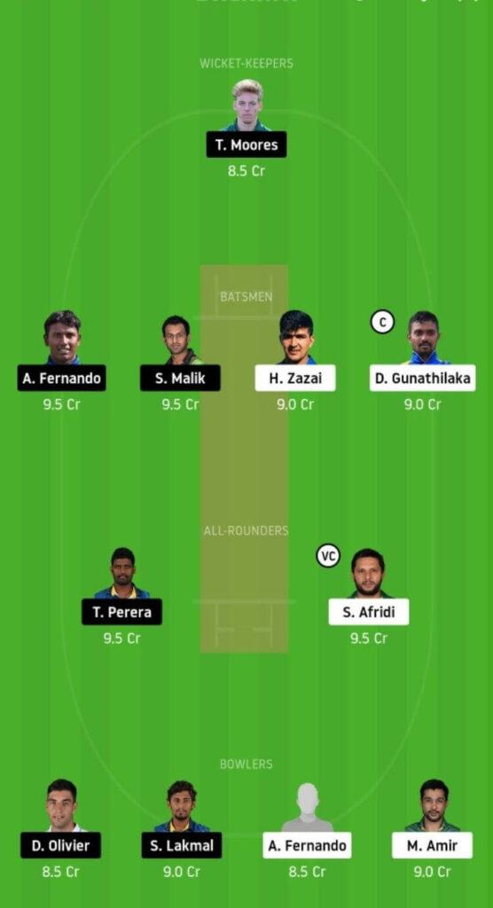 GG vs JS Dream11 Team Prediction | Match 9 | Lanka Premier League T20 | 3rd Dec 2020 Head to Head