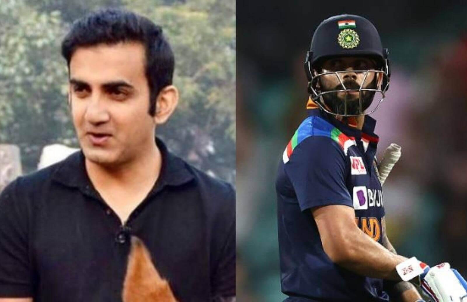'Hats Off,'- Gautam Gambhir Lauds Virat Kohli For Breaking Sachin Tendulkar's 17-Year-Old Record