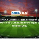 JS vs CK Dream11 Team Prediction
