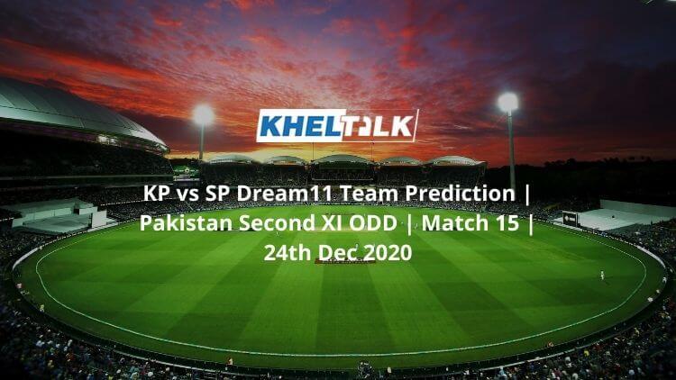 KP vs SP Dream11 Team Prediction   Pakistan Second XI ODD   Match 15   24th Dec 2020