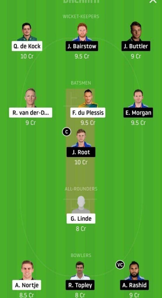 SA vs ENG Dream11 Team Prediction _ 1st ODI _ England tour of South Africa _ 4th Dec 2020 Head to Head