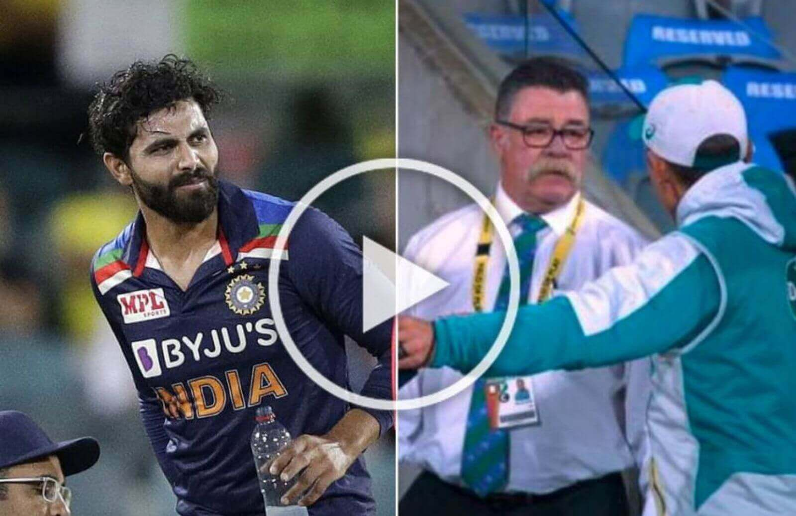Watch- Justin Langer Angry As Yuzvendra Chahal Takes The Field As Concussion Sub For Ravindra Jadeja In 1st T20I