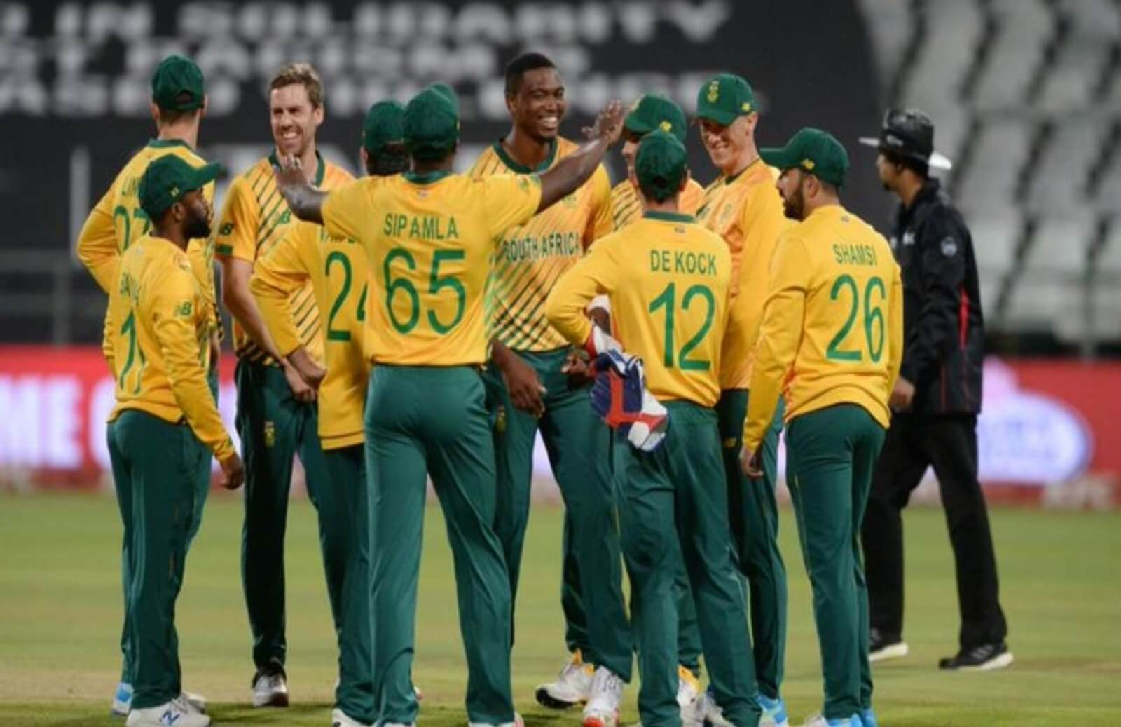 South Africa For Test