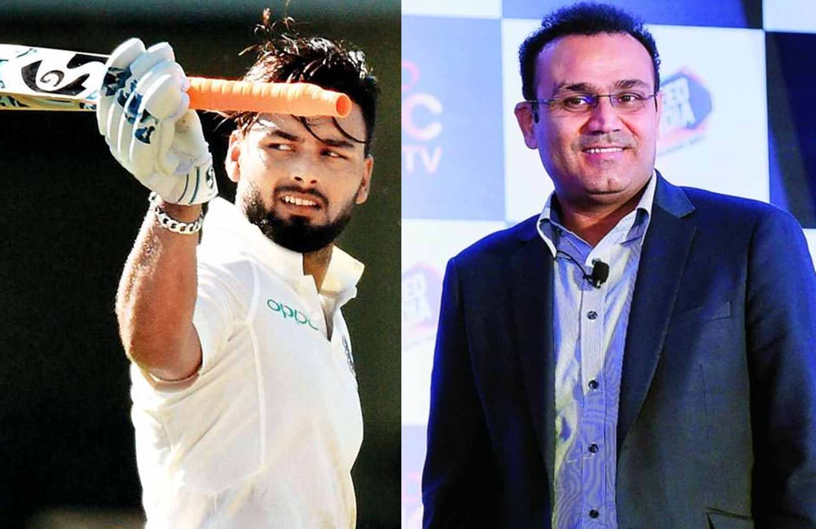 Virender Sehwag Compliments Rishabh Pant