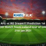 AFG vs IRE Dream11