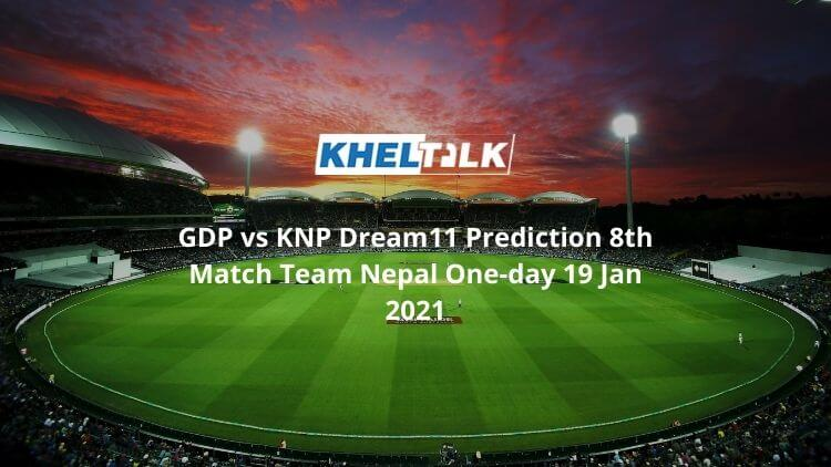 GDP-vs-KNP-Dream11-Prediction-8th-Match-Team-Nepal-One-day-19-Jan-2021