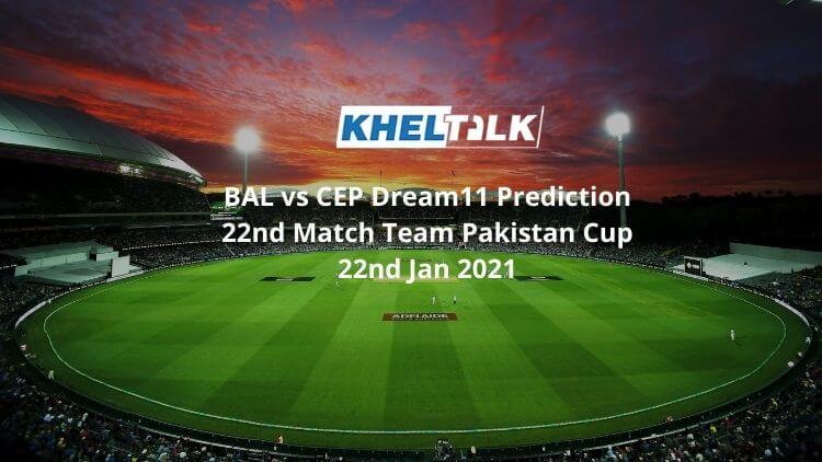 BAL vs CEP Dream11