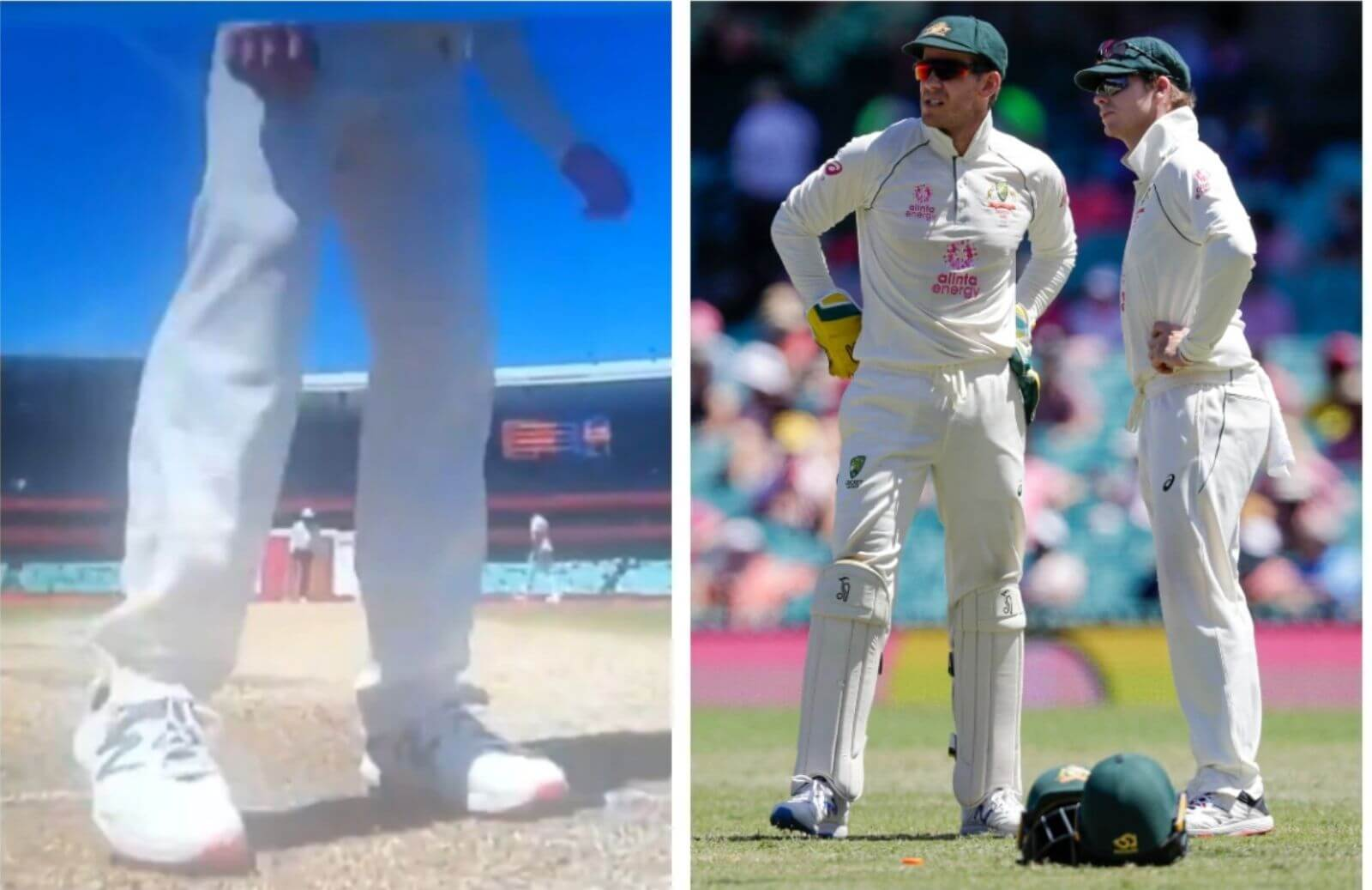 WATCH_ Steve Smith Recorded Scuffing Rishabh Pant's Guard Mark At SCG