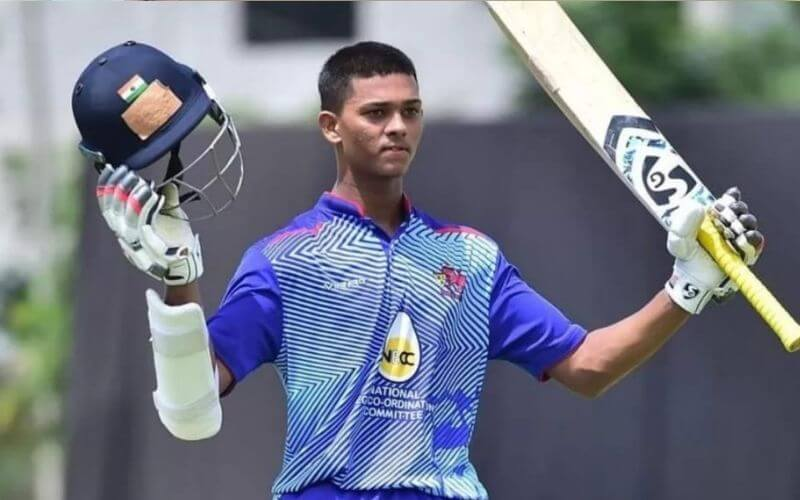 WATCH_ Yashasvi Jaiswal Smokes S Sreesanth For Two Humungous Sixes As The Latter Tries To Sledge Him