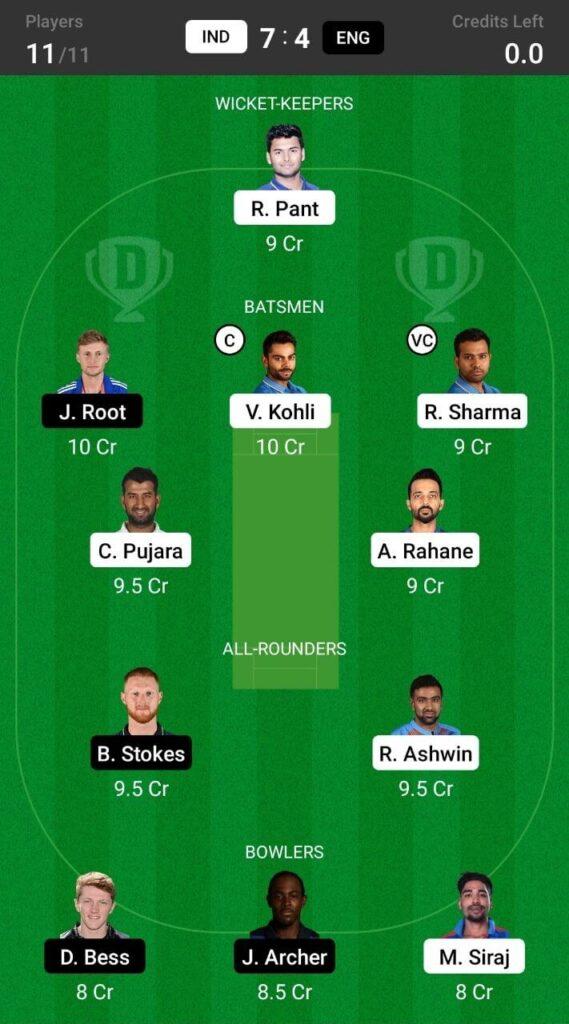 Grand League (India vs England)