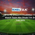 DB vs PD Dream11 Prediction 17th Match Team