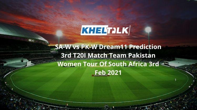 SA-W vs PK-W Dream11 Team