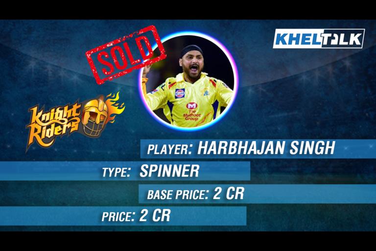 Harbhajan Singh IPL 2020
