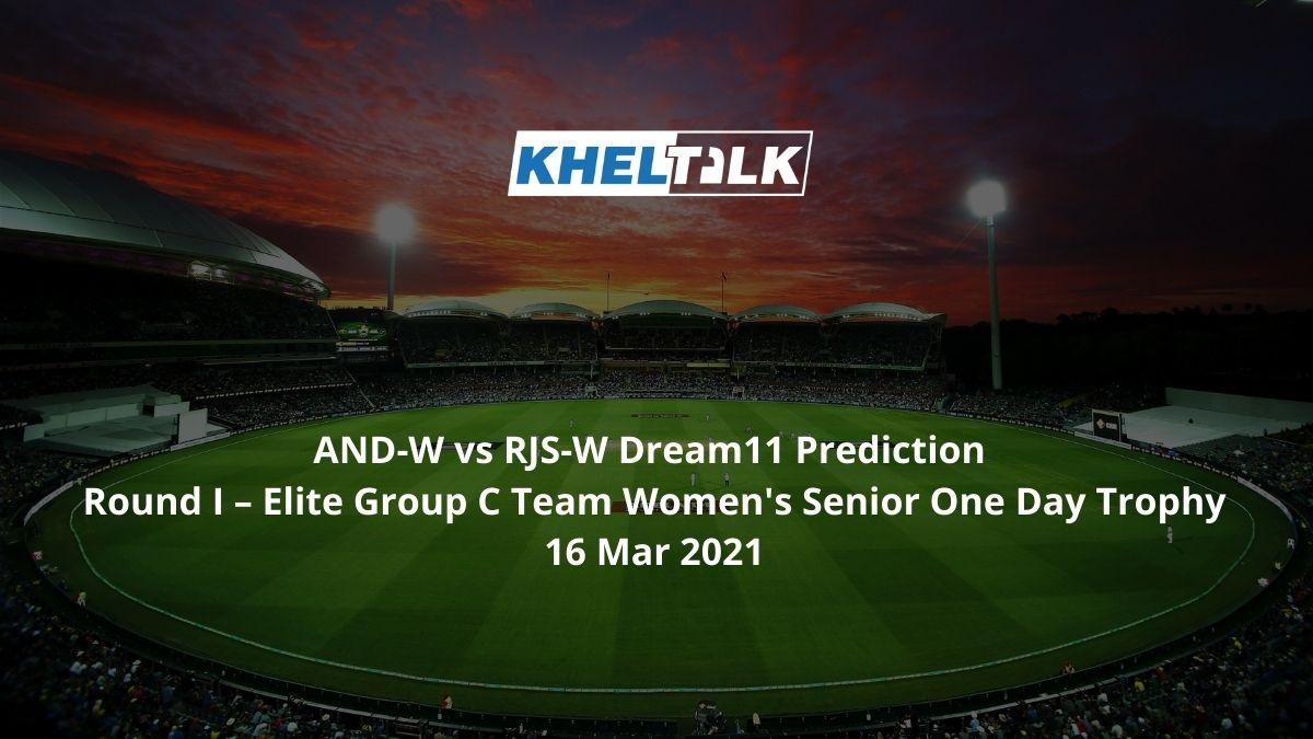 AND-W vs RJS-W Dream11 Prediction