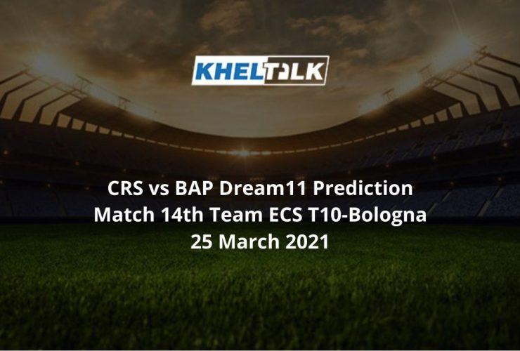 CRS vs BAP Dream11 Prediction