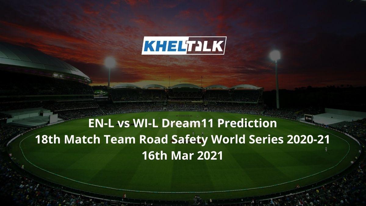 EN-L vs WI-L Dream11 Prediction