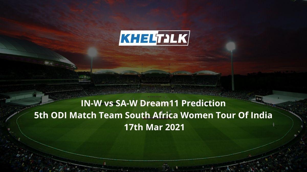 IN-W vs SA-W Dream11 Prediction