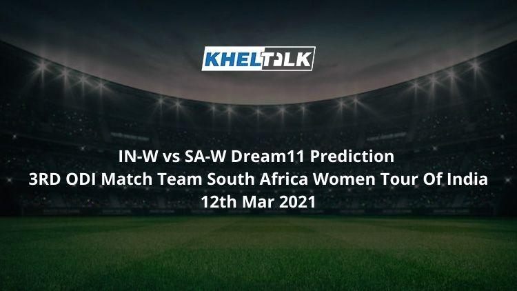 IN-W vs SA-W Dream11