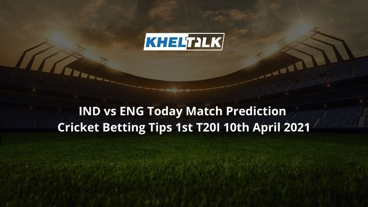 IND vs ENG Today Match Prediction