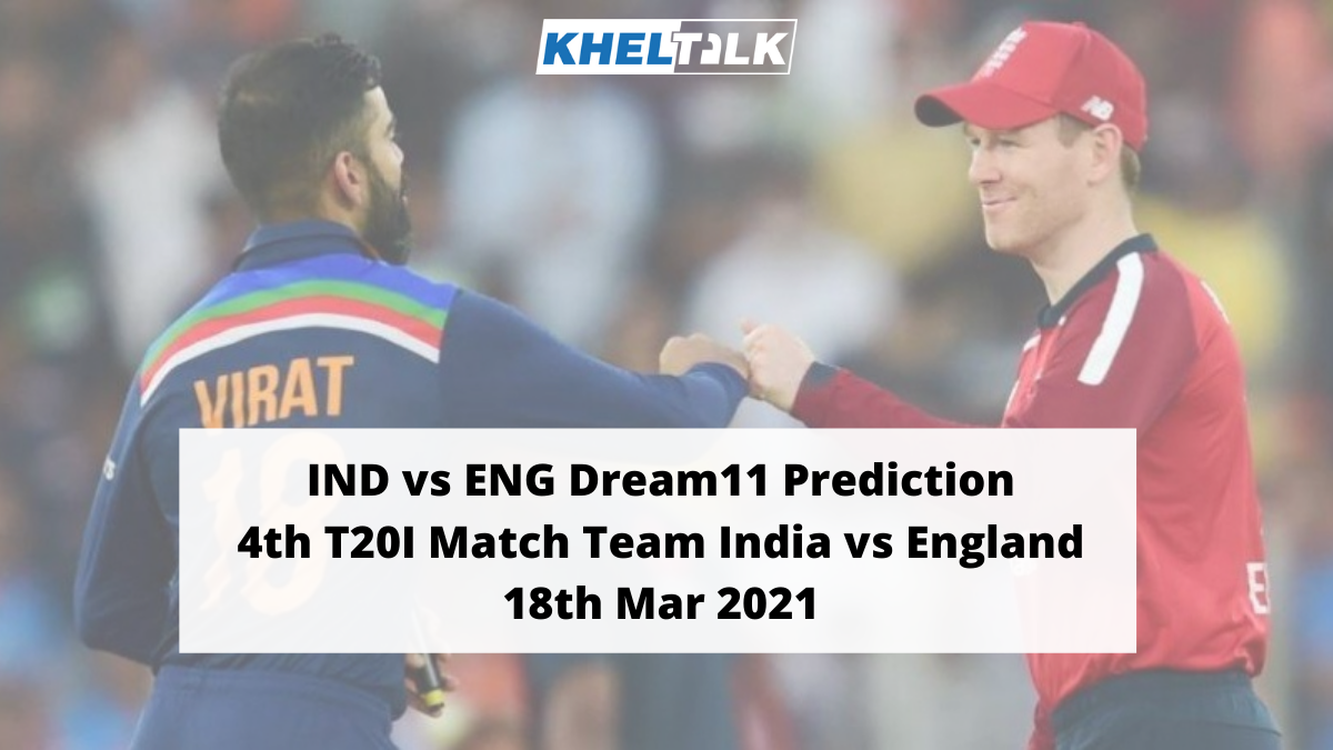 India vs England 4th T20I Match