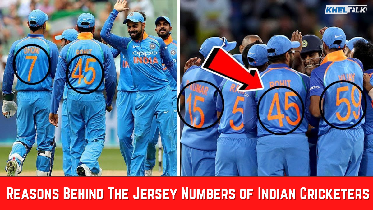 Indian Jersey Numbers