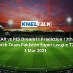 KAR vs PES Dream11 Prediction