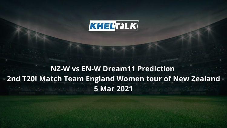 NZ-W vs EN-W Dream11