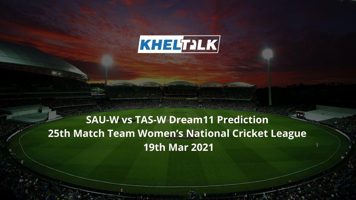 SAU-W vs TAS-W Dream11 Prediction