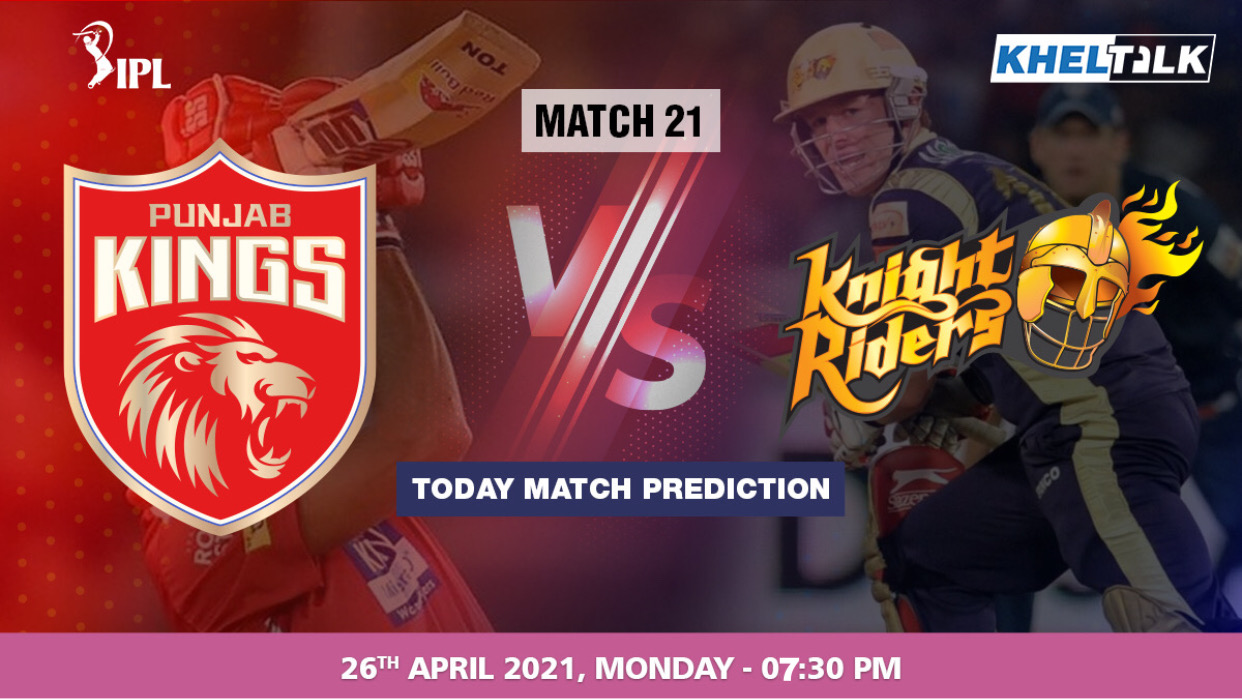PBKS vs KKR Today Match Prediction