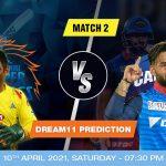 CSK vs DC Dream11 Prediction