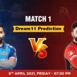 MI vs RCB Dream11