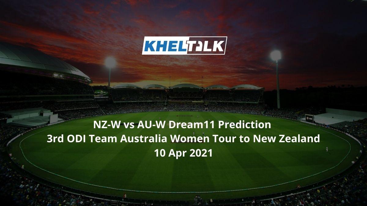 NZ-W-vs-AU-W-Dream11-Prediction