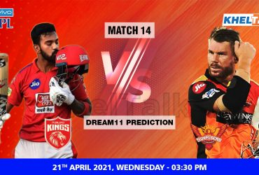 PBKS vs SRH Dream11 Prediction Match 14 Team by Expert IPL 21 April | Kheltalk Fantasy cricket
