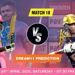 RR vs KKR Dream11 Prediction Match 18 Team by Expert IPL 24 April | Kheltalk Fantasy cricket