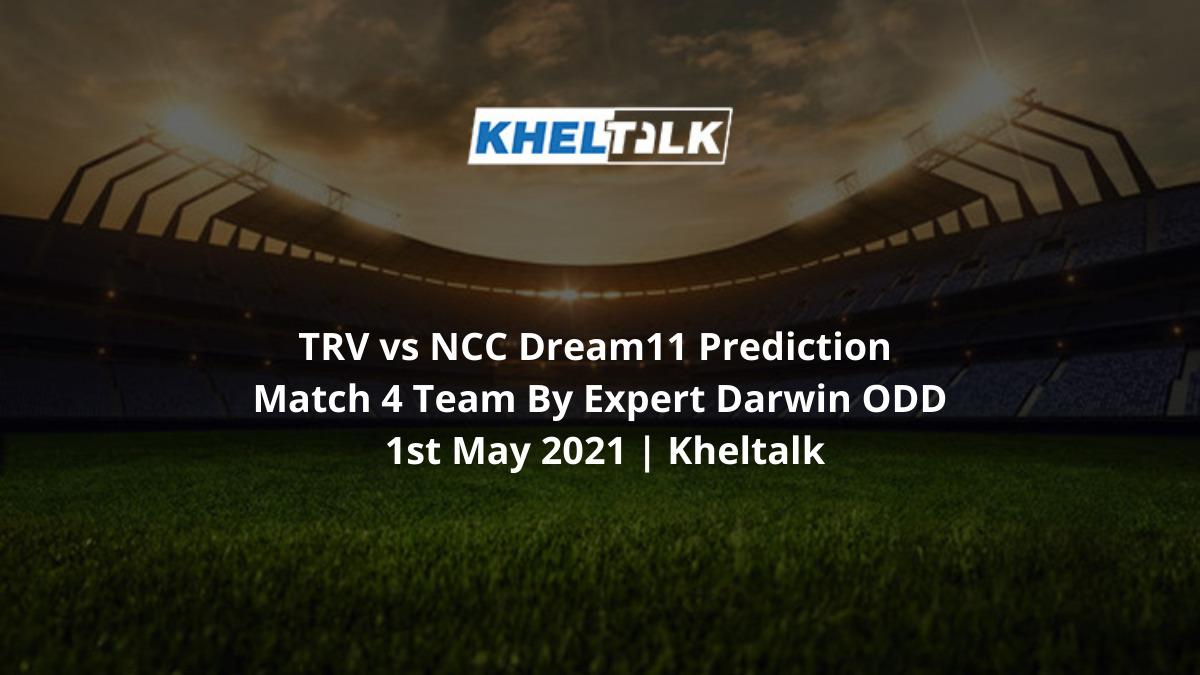 TRV vs NCC Dream11 Prediction