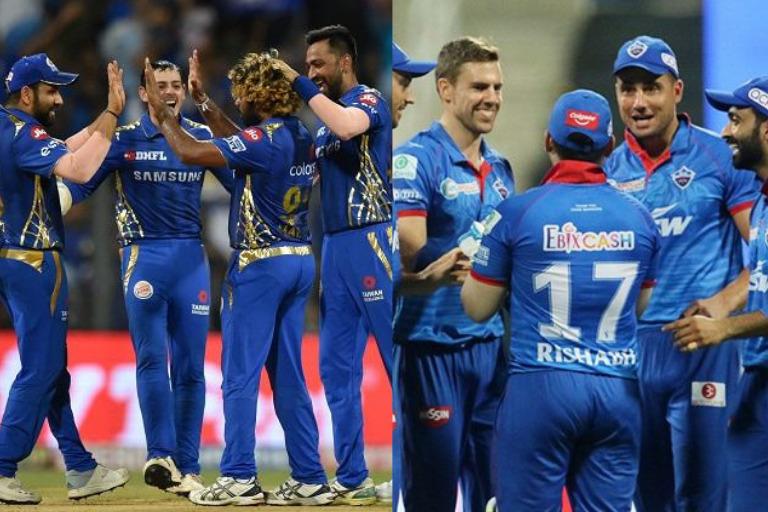 Mumbai Indians Vs Delhi Capitals – Head to Head Record in the IPL History