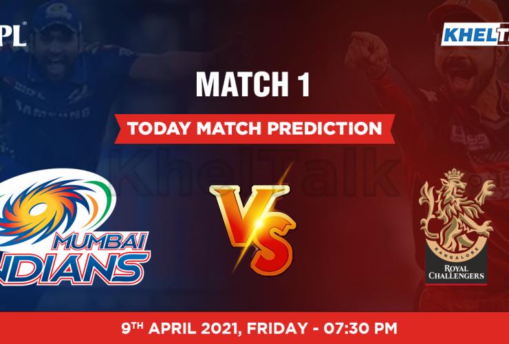 MI vs RCB Today Match Prediction