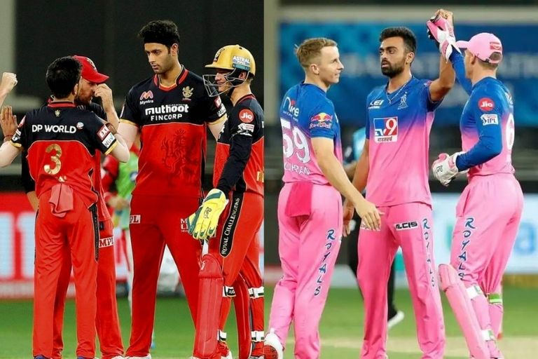 RCB vs RR Head To Head Records of IPL History