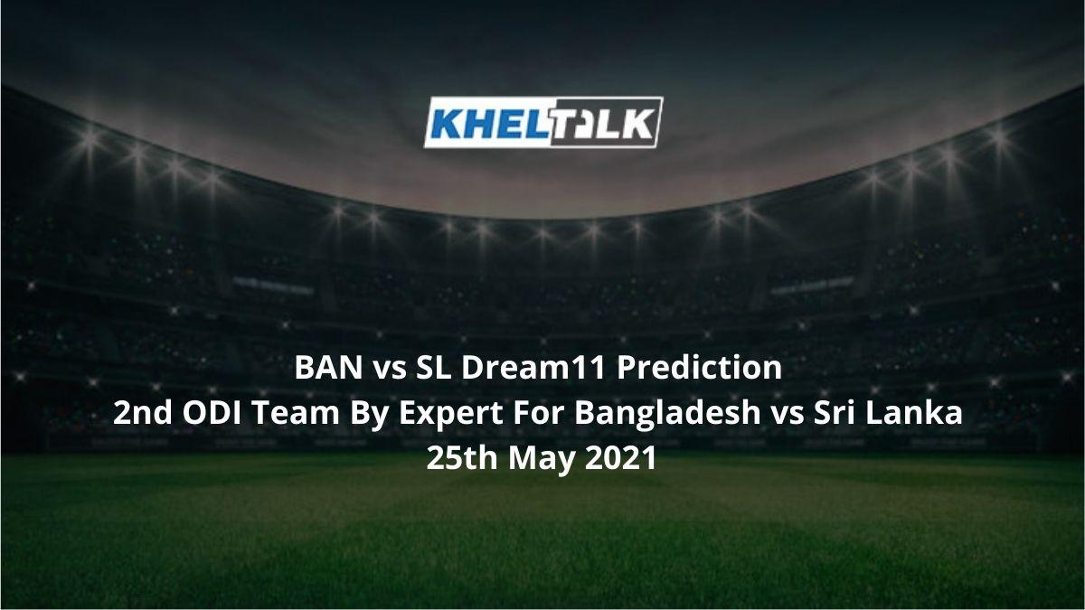 BAN vs SL Dream11 Prediction