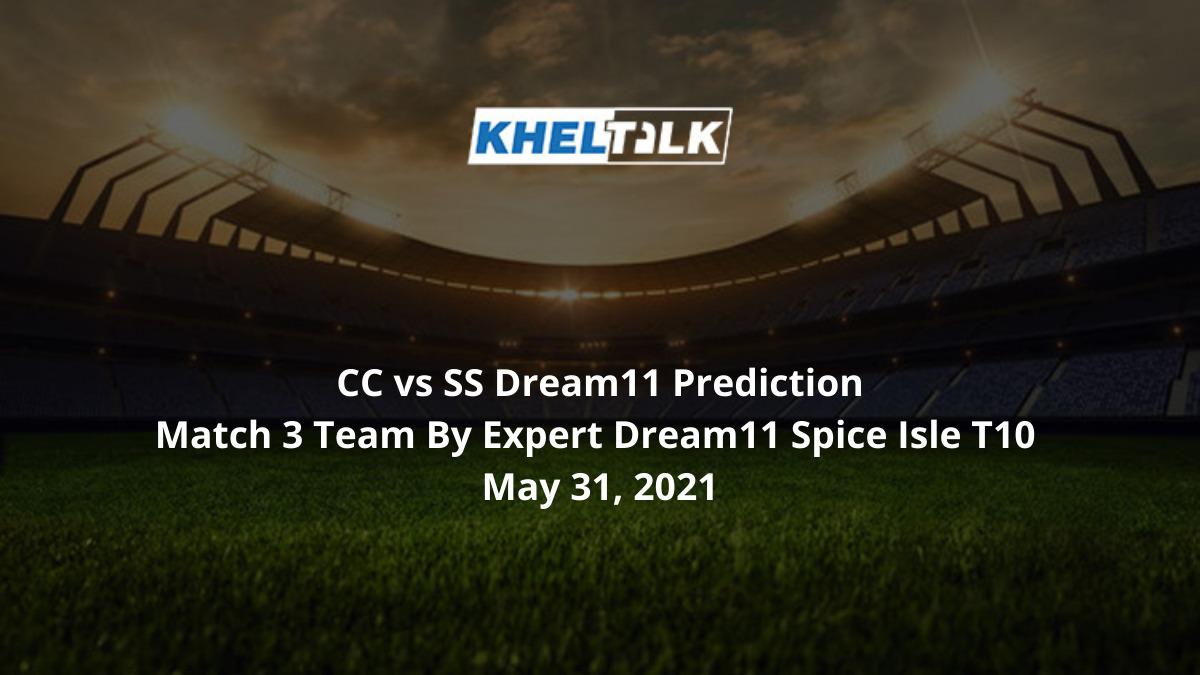 CC vs SS Dream11 Prediction