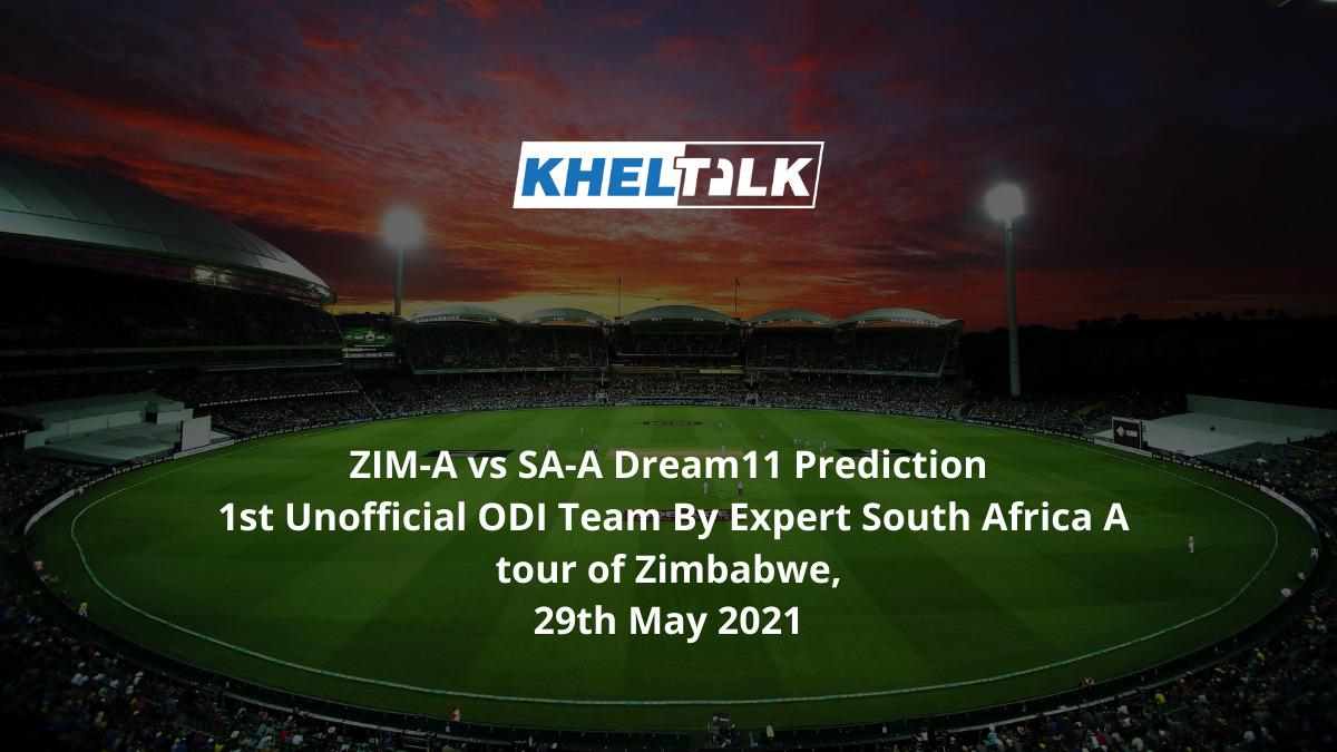 ZIM-A vs SA-A Dream11 Prediction 1st Unofficial ODI Team