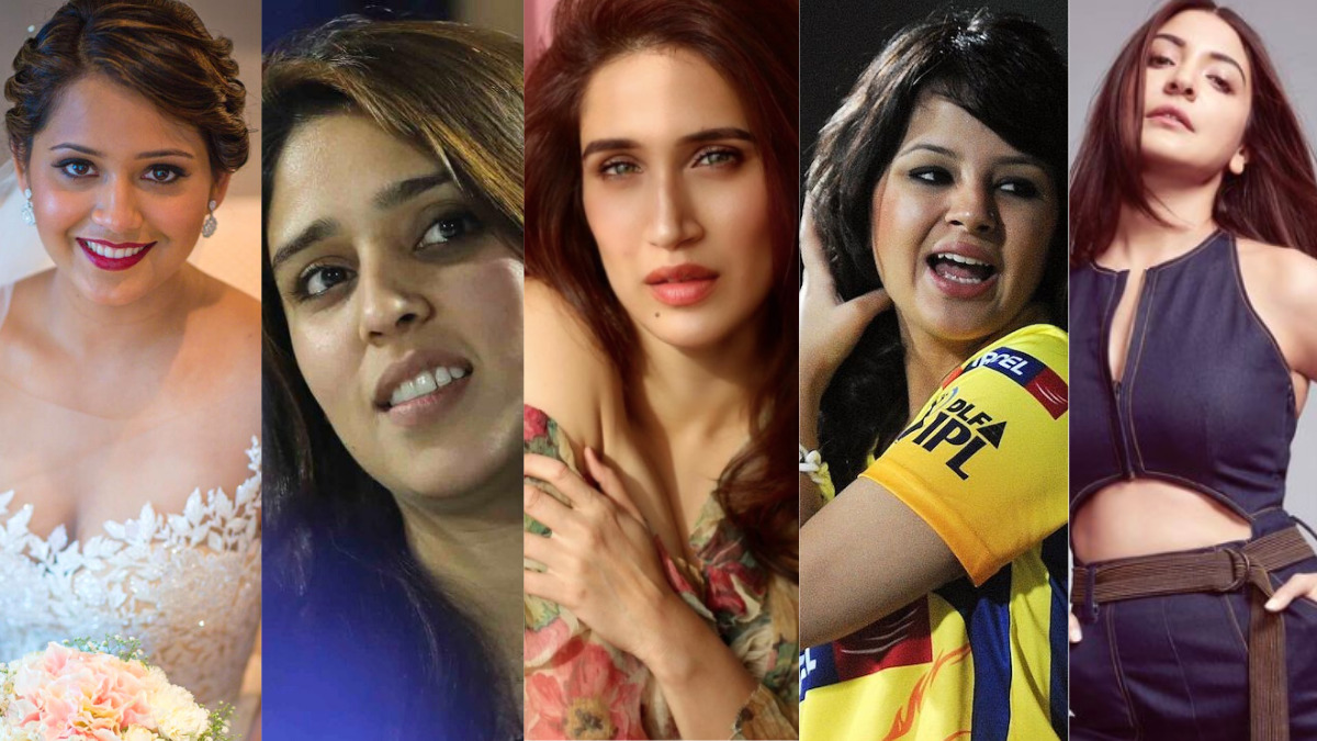5 Hottest Wives Of Indian Cricketers