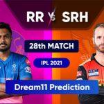 RR vs SRH