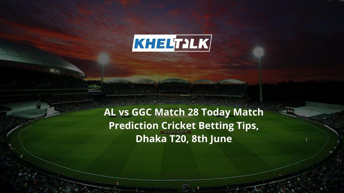 AL vs GGC Match 28 Today Match Prediction