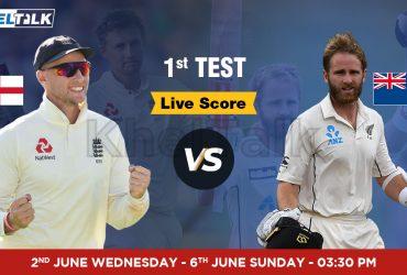 England vs New Zealand, 1st Test
