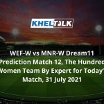 WEF-W-vs-MNR-W-Dream11-Prediction